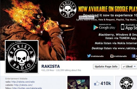 R.E.C. manages the the official facebook and twitter of Rakista Radio. They have two facebook account for the Website and for Rakista Radio App. Services we provided are complete social media management, content planning and reporting.