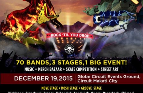 <strong>Rakrakan Festival</strong> is the biggest annual 100% Pinoy Rock music festival in the country happening every December and which includes other activities like Extreme Sports Competition, Food Bazaar, Merch & T-Shirts Bazaar.