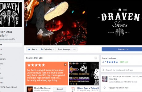 R.E.C is managing Draven Asia Pacific's official Facebook page, Twitter, and Instagram accounts. R.E.C started in 2016. Since then, Draven Asia Pacific gained 100,000 Facebook likes, 164 Twitter followers, and 7,600 Instagram followers. Included in the service are content creation, content planning, and statistical reports.