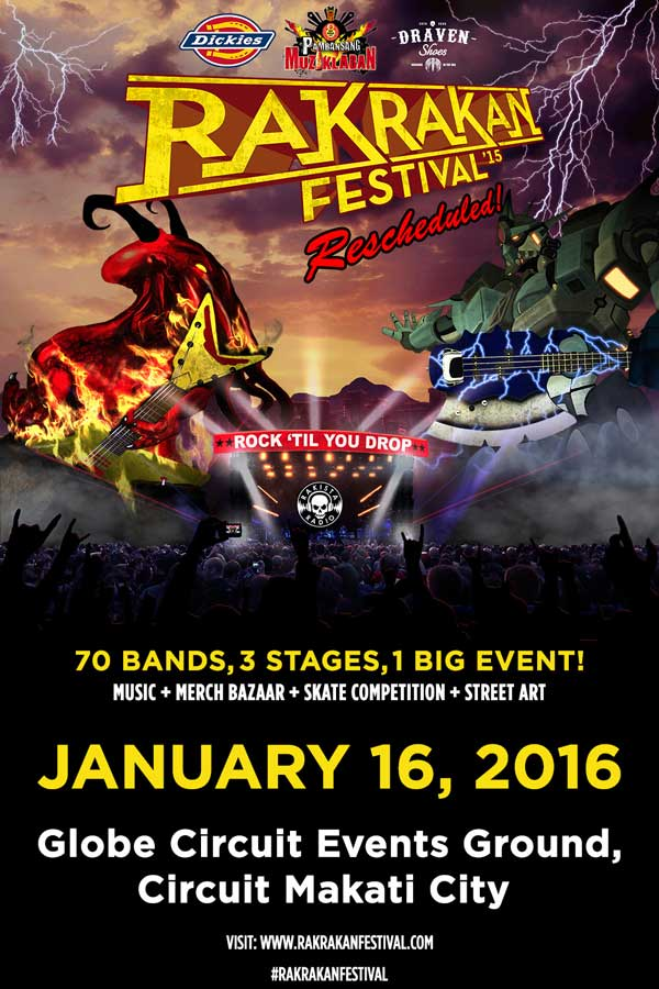 Rakrakan Festival 2015